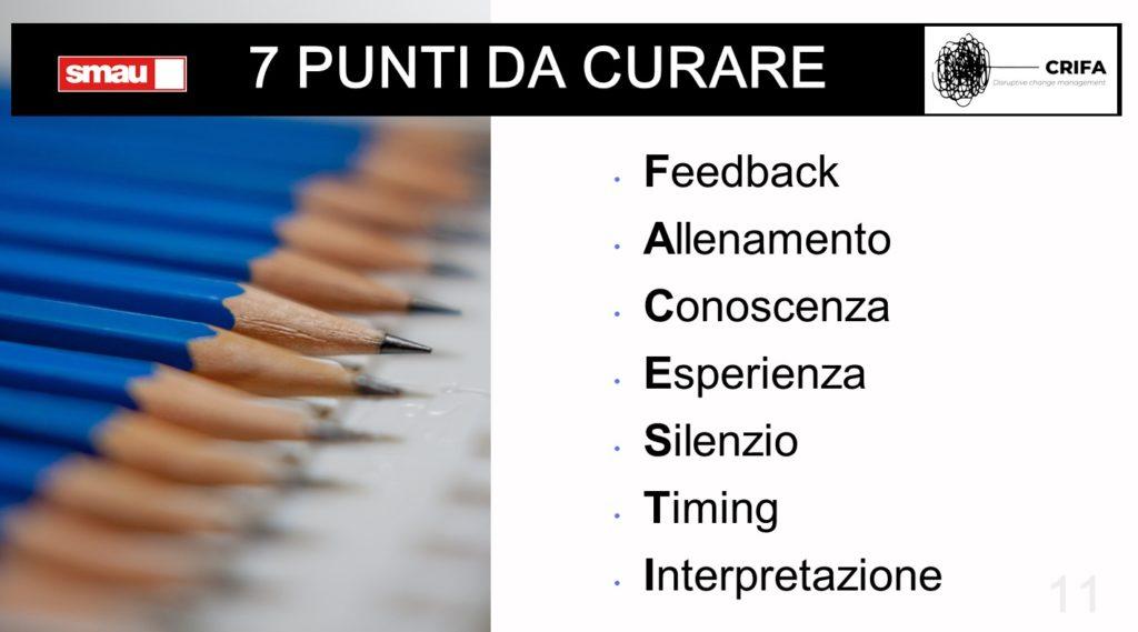 7 punti per la comunicazione efficace in azienda